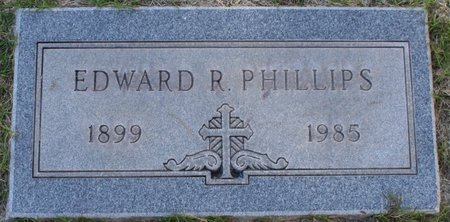 PHILLIPS, EDWARD R - Maricopa County, Arizona | EDWARD R PHILLIPS - Arizona Gravestone Photos