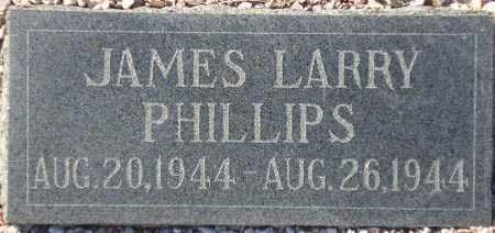PHILLIPS, JAMES LARRY - Maricopa County, Arizona | JAMES LARRY PHILLIPS - Arizona Gravestone Photos