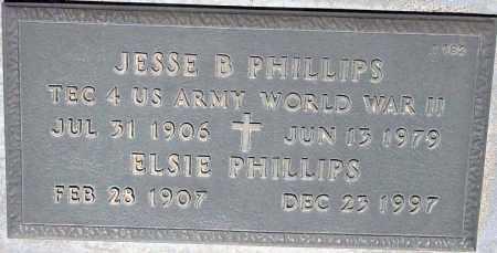 PHILLIPS, JESSE B. - Maricopa County, Arizona | JESSE B. PHILLIPS - Arizona Gravestone Photos