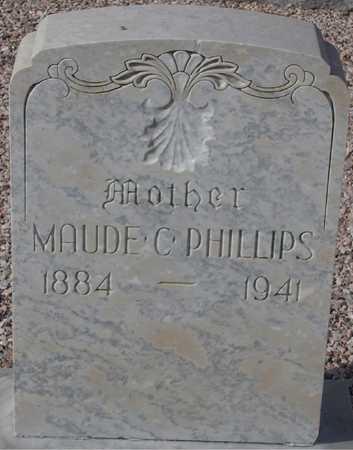PHILLIPS, MAUDE C. - Maricopa County, Arizona | MAUDE C. PHILLIPS - Arizona Gravestone Photos