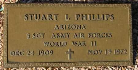 PHILLIPS, STUART L. - Maricopa County, Arizona | STUART L. PHILLIPS - Arizona Gravestone Photos