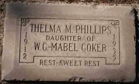 PHILLIPS, THELMA M - Maricopa County, Arizona | THELMA M PHILLIPS - Arizona Gravestone Photos
