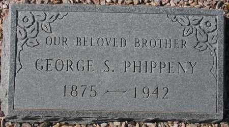 PHIPPENY, GEORGE S. - Maricopa County, Arizona | GEORGE S. PHIPPENY - Arizona Gravestone Photos