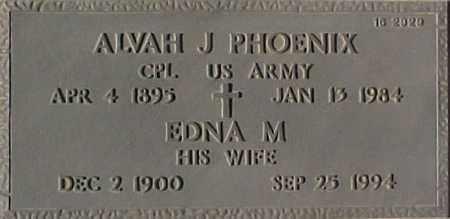 PHOENIX, ALVAH J. - Maricopa County, Arizona | ALVAH J. PHOENIX - Arizona Gravestone Photos