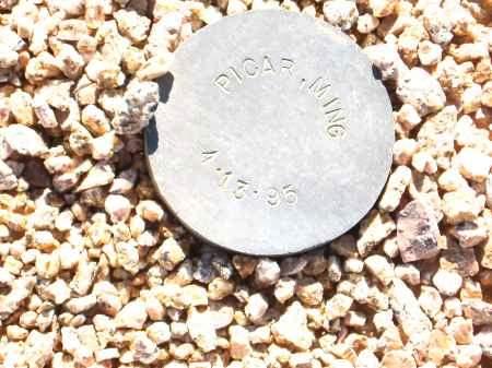 PICAR, MING - Maricopa County, Arizona | MING PICAR - Arizona Gravestone Photos