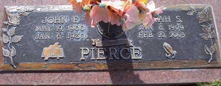 PIERCE, JOHN F. - Maricopa County, Arizona | JOHN F. PIERCE - Arizona Gravestone Photos