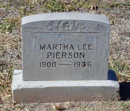EDENS PIERSON, MARTHA LEE - Maricopa County, Arizona | MARTHA LEE EDENS PIERSON - Arizona Gravestone Photos