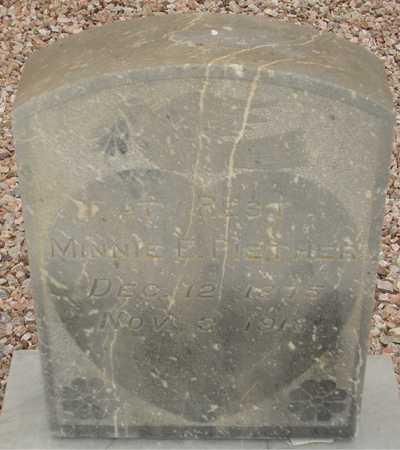 PIETHER, MINNIE E. - Maricopa County, Arizona | MINNIE E. PIETHER - Arizona Gravestone Photos