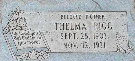PIGG, THELMA - Maricopa County, Arizona   THELMA PIGG - Arizona Gravestone Photos