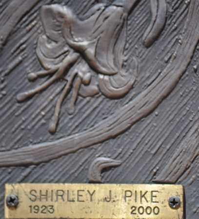 PIKE, SHIRLEY J. - Maricopa County, Arizona   SHIRLEY J. PIKE - Arizona Gravestone Photos