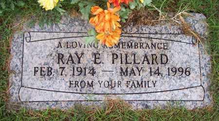 PILLARD, RAY E. - Maricopa County, Arizona   RAY E. PILLARD - Arizona Gravestone Photos