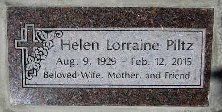 PILTZ, HELEN LORRAINE - Maricopa County, Arizona | HELEN LORRAINE PILTZ - Arizona Gravestone Photos