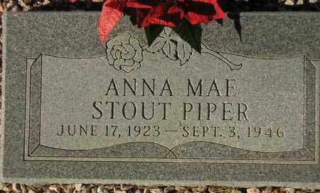 PIPER, ANNA MAE STOUT - Maricopa County, Arizona | ANNA MAE STOUT PIPER - Arizona Gravestone Photos