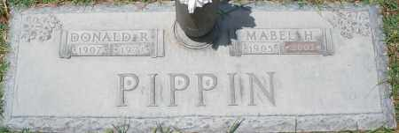 PIPPIN, DONALD R. - Maricopa County, Arizona | DONALD R. PIPPIN - Arizona Gravestone Photos