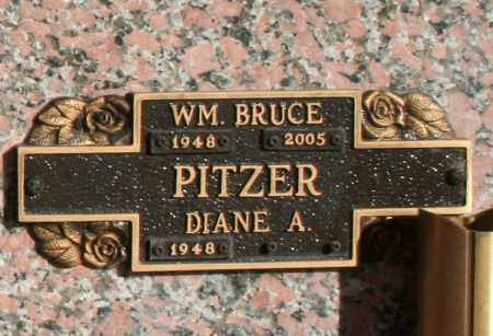 PITZER, WILLIAM BRUCE - Maricopa County, Arizona | WILLIAM BRUCE PITZER - Arizona Gravestone Photos