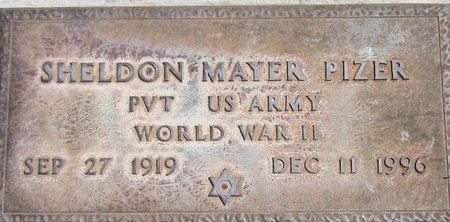 PIZER, SHELDON MAYER - Maricopa County, Arizona | SHELDON MAYER PIZER - Arizona Gravestone Photos