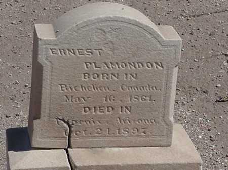 PLAMONDON, ERNEST - Maricopa County, Arizona   ERNEST PLAMONDON - Arizona Gravestone Photos
