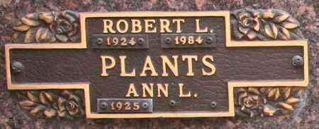 PLANTS, ANN L - Maricopa County, Arizona | ANN L PLANTS - Arizona Gravestone Photos