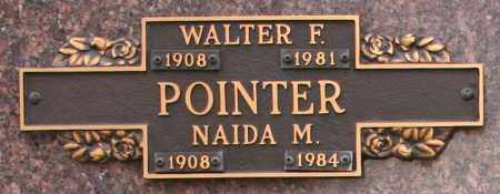 POINTER, WALTER F - Maricopa County, Arizona   WALTER F POINTER - Arizona Gravestone Photos