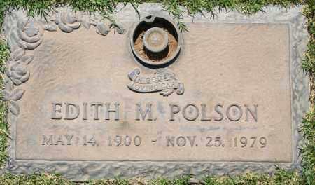 POLSON, EDITH M - Maricopa County, Arizona | EDITH M POLSON - Arizona Gravestone Photos