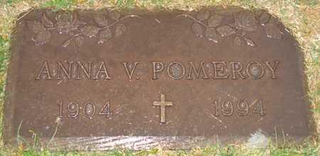POMEROY, ANNA V. - Maricopa County, Arizona | ANNA V. POMEROY - Arizona Gravestone Photos