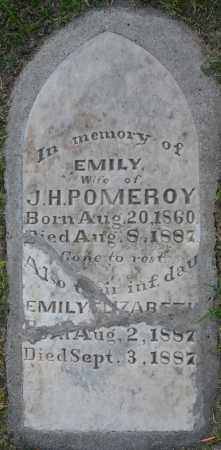 POMEROY, EMILY ELIZABETH (DAU) - Maricopa County, Arizona | EMILY ELIZABETH (DAU) POMEROY - Arizona Gravestone Photos