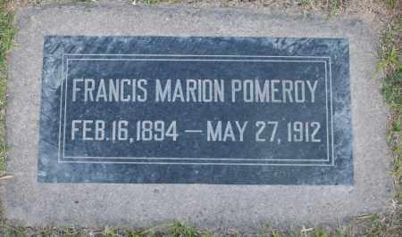 POMEROY, FRANCIS MARION - Maricopa County, Arizona | FRANCIS MARION POMEROY - Arizona Gravestone Photos