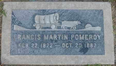 POMEROY, FRANCIS MARTIN - Maricopa County, Arizona | FRANCIS MARTIN POMEROY - Arizona Gravestone Photos