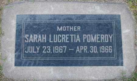 POMEROY, SARAH LUCRETIA - Maricopa County, Arizona | SARAH LUCRETIA POMEROY - Arizona Gravestone Photos