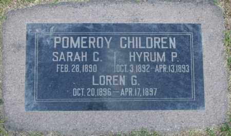 POMEROY, HYRUM P - Maricopa County, Arizona | HYRUM P POMEROY - Arizona Gravestone Photos