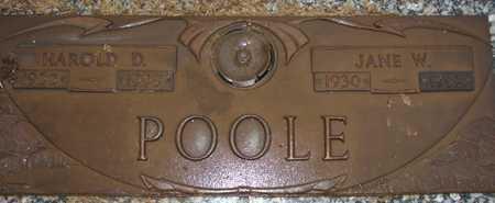 POOLE, HAROLD D. - Maricopa County, Arizona | HAROLD D. POOLE - Arizona Gravestone Photos