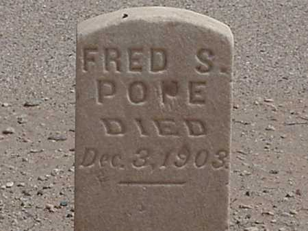 POPE, FRED S - Maricopa County, Arizona | FRED S POPE - Arizona Gravestone Photos