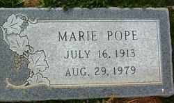 POPE, MARIE - Maricopa County, Arizona | MARIE POPE - Arizona Gravestone Photos