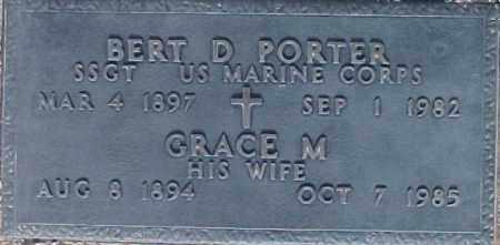 PORTER, BERT D - Maricopa County, Arizona | BERT D PORTER - Arizona Gravestone Photos