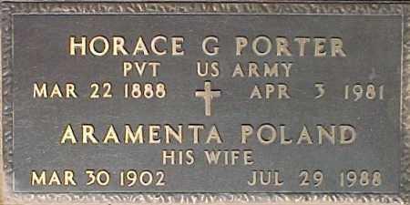 PORTER, ARAMENTA POLAND - Maricopa County, Arizona | ARAMENTA POLAND PORTER - Arizona Gravestone Photos