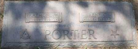 PORTER, IRENE C. - Maricopa County, Arizona | IRENE C. PORTER - Arizona Gravestone Photos