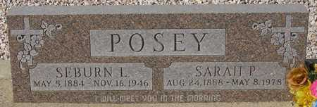 POSEY, SARAH P. - Maricopa County, Arizona | SARAH P. POSEY - Arizona Gravestone Photos