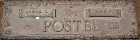 POSTEL, JAMES C. - Maricopa County, Arizona | JAMES C. POSTEL - Arizona Gravestone Photos