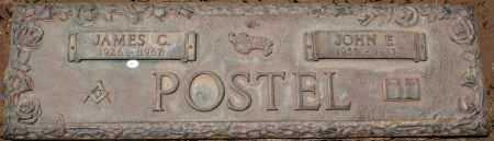 POSTEL, JAMES C. - Maricopa County, Arizona   JAMES C. POSTEL - Arizona Gravestone Photos