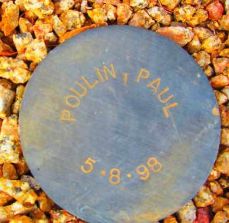 POULIN, PAUL - Maricopa County, Arizona | PAUL POULIN - Arizona Gravestone Photos