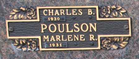 POULSON, MARLENE R - Maricopa County, Arizona | MARLENE R POULSON - Arizona Gravestone Photos