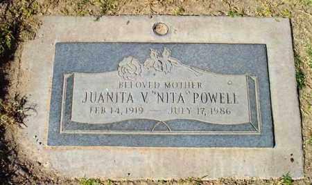 POWELL, JUANITA V. (NITA) - Maricopa County, Arizona | JUANITA V. (NITA) POWELL - Arizona Gravestone Photos