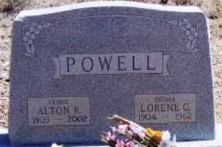 POWELL, LORENE C. - Maricopa County, Arizona | LORENE C. POWELL - Arizona Gravestone Photos