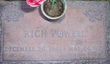 POWELL, RICH - Maricopa County, Arizona | RICH POWELL - Arizona Gravestone Photos