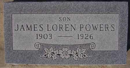 POWERS, JAMES LOREN - Maricopa County, Arizona | JAMES LOREN POWERS - Arizona Gravestone Photos