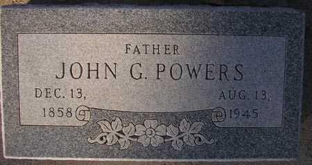 POWERS, JOHN G. - Maricopa County, Arizona | JOHN G. POWERS - Arizona Gravestone Photos