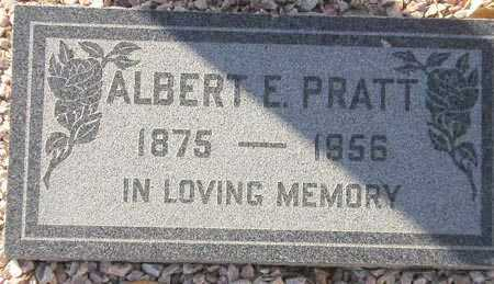 PRATT, ALBERT E. - Maricopa County, Arizona | ALBERT E. PRATT - Arizona Gravestone Photos