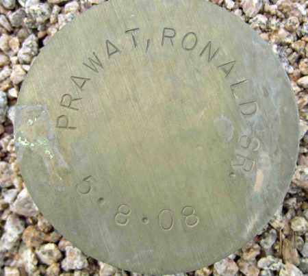 PRAWAT, RONALD SR. - Maricopa County, Arizona   RONALD SR. PRAWAT - Arizona Gravestone Photos