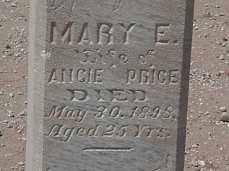PRICE, MARY E - Maricopa County, Arizona | MARY E PRICE - Arizona Gravestone Photos