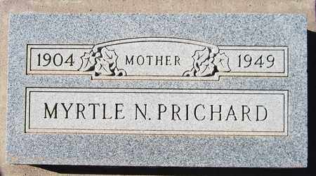 PRICHARD, MYRTLE N. - Maricopa County, Arizona | MYRTLE N. PRICHARD - Arizona Gravestone Photos